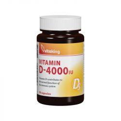 Vitaking D3-vitamin 4000NE kapszula – 90x