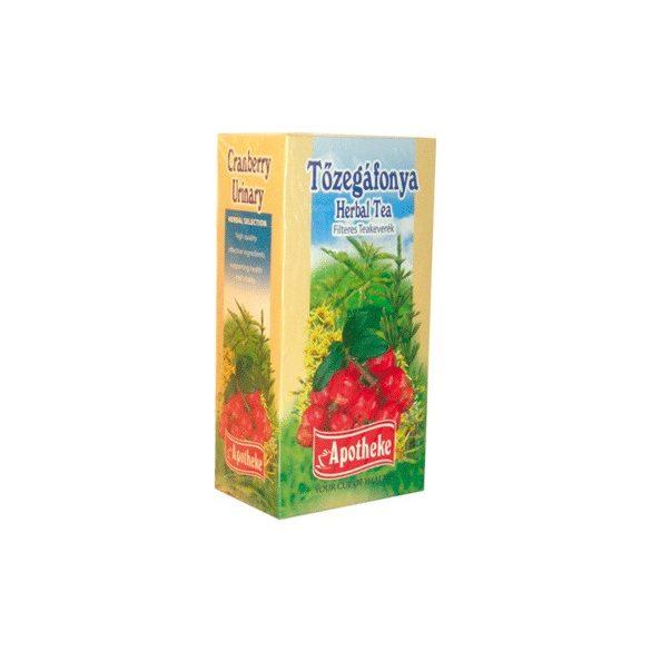 Apotheke Tőzegáfonya tea 20x