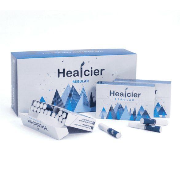 Healcier – normál nikotinmentes hevítőrúd - 1 karton - 10 doboz + 1 ajándék doboz