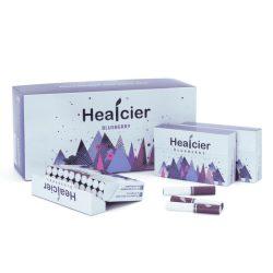 Healcier – áfonyás ízű nikotinmentes hevítőrúd - 1 karton - 10 doboz + 1 ajándék doboz
