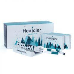 Healcier – mentol 7.0 nikotinmentes hevítőrúd - 1 karton - 10 doboz + 1 ajándék doboz