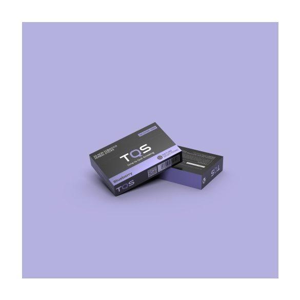 TQS – áfonya ízű dohány és nikotinmentes hevítőrúd 1 doboz