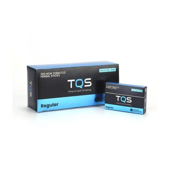 TQS – regular ízű dohány és nikotinmentes hevítőrúd 1karton - 10 doboz + 1 ajándék doboz