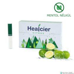 Healcier – citrus nikotinmentes hevítőrúd - 1 karton - 10 doboz + 1 ajándék doboz