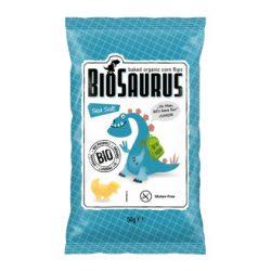 "Biopont Kukoricás Snack Tengeri Sós ""BioSaurus Junior"" Bio 50g"