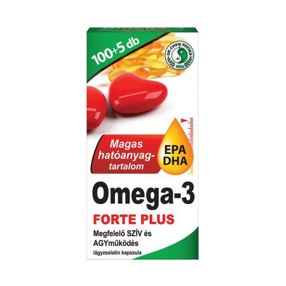 Dr Chen Omega-3 Forte Plus - 105x