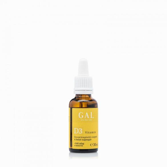 GAL D3 Vitamin csepp 30 ml / 4000 NE x 240 adag