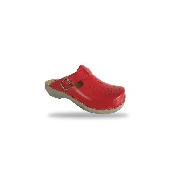 Fratelli Babb női papucs - klumpa D101 Rosso
