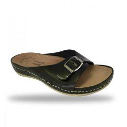 Fratelli Babb bio papucs - komfort papucs D95 Nero