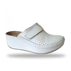 Fratelli Babb komfort papucs - divat papucs D130 Bianco