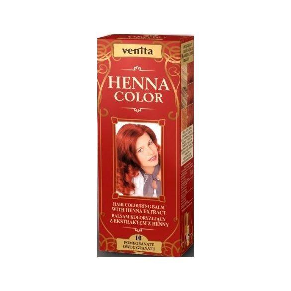 Venita Henna Color hajszínező balzsam 10 Gránát vörös 75ml