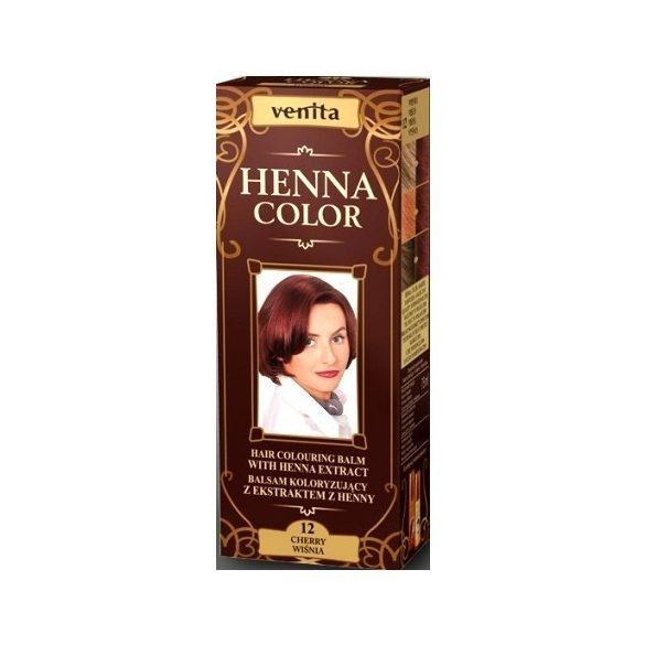 Venita Henna Color hajszínező balzsam 12 Meggyvörös 75ml