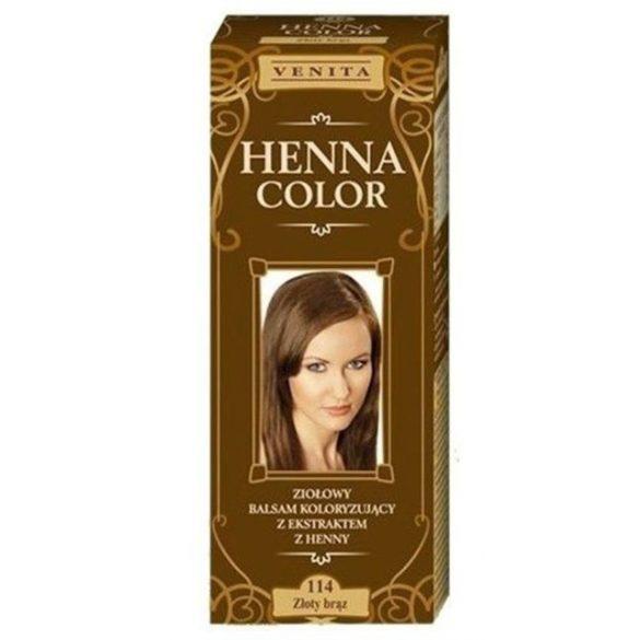 Venita Henna Color hajszínező balzsam 114 Aranybarna 75ml