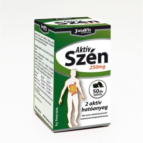JutaVit Aktív Szén tabletta 50x