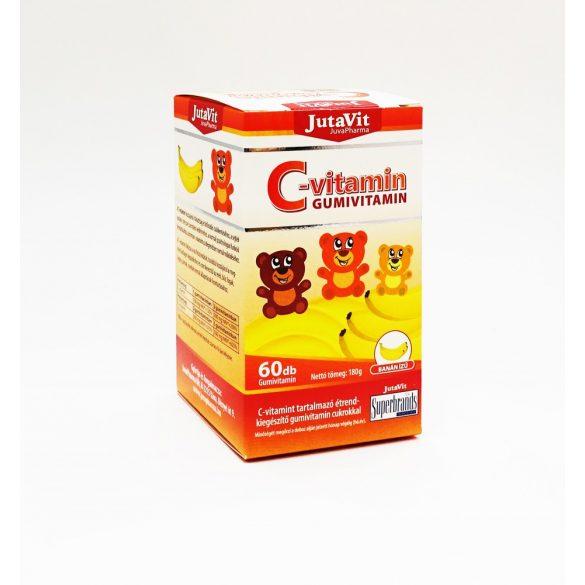 JutaVit C-vitamin 100mg  Gumivitamin banán ízű 60x