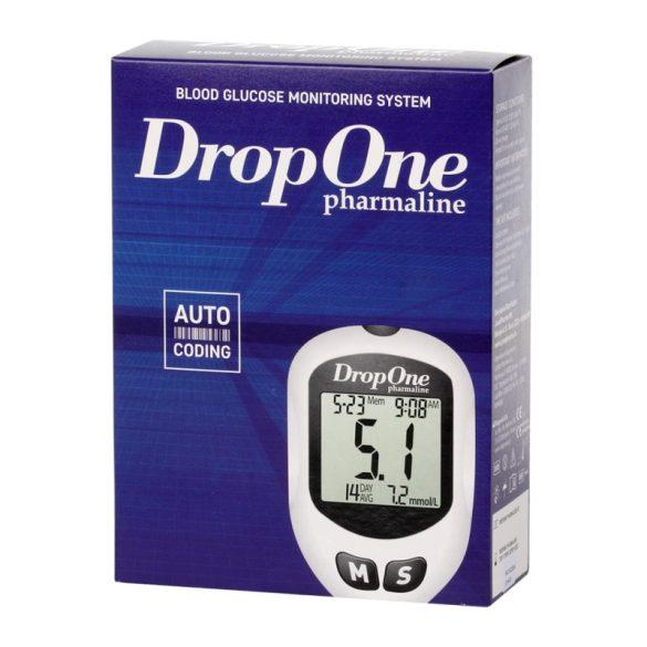 JuvaPharma Drop One vércukorszintmérő készülék