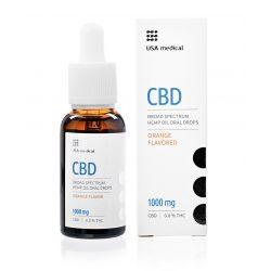 USA Medical CBD olaj 1000mg 30 ml