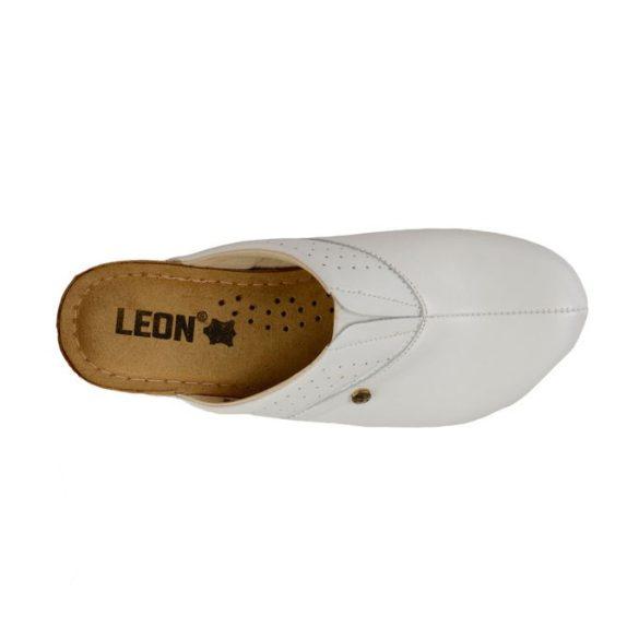 Leon női papucs – 1002 Fehér
