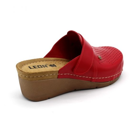 Női Leon papucs – 1001 Piros