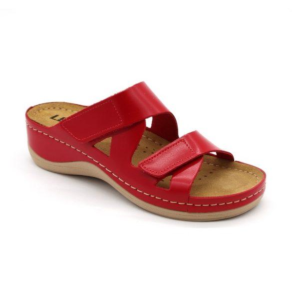 Női Leon papucs – 906 Piros