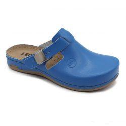 Leon 950 Női bőr papucs - kék