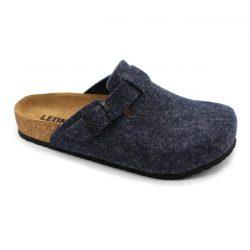 4761 LEON Comfort férfi szövet klumpa - kék