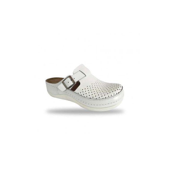 Fratelli Babb komfort papucs -  klumpa D300 Bianco