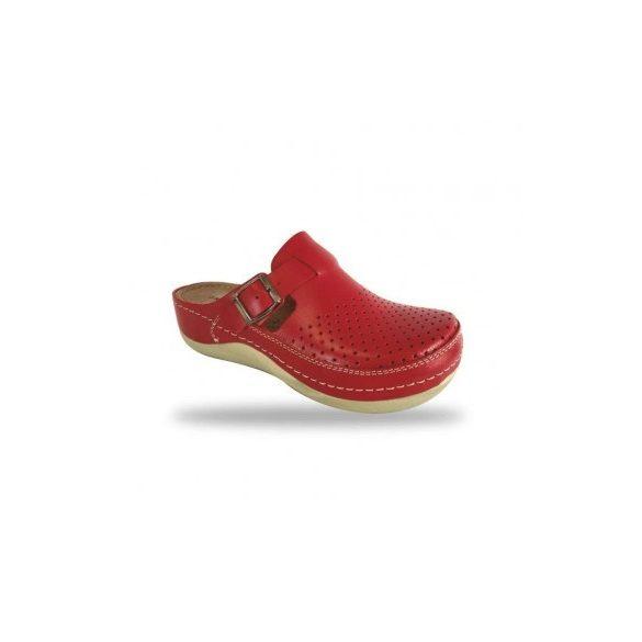 Fratelli Babb komfort papucs -  klumpa D300 Rosso