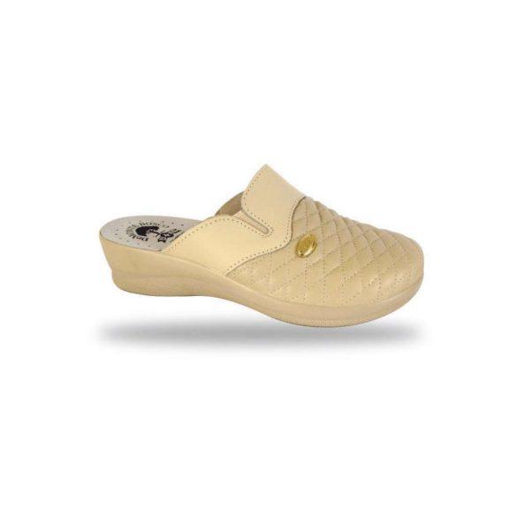 DrMonteBosco női papucs - komfort papucs 6204 Beige