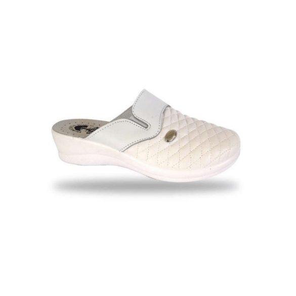 DrMonteBosco női papucs - komfort papucs 6204 Bianco