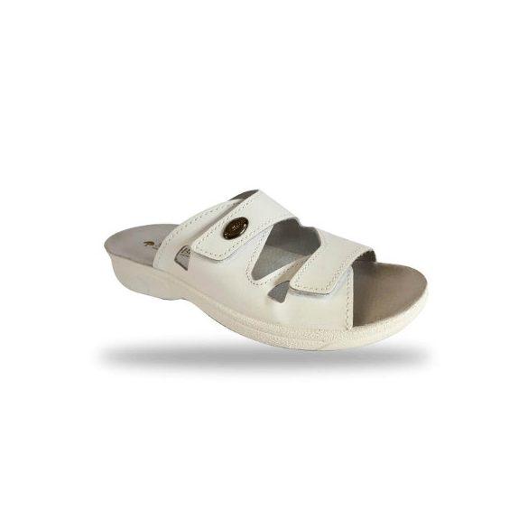DrMonteBosco női komfort papucs - 1406 Bianco