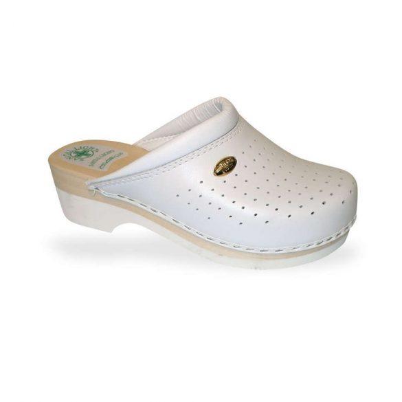Santal Leight komfort papucs - fa klumpa 2350 Bianco