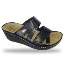 Fratelli Babb komfort papucs - divat papucs D108 Blu