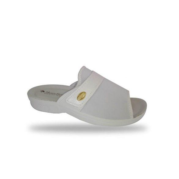 DrMonteBosco női papucs - 1416 Bianco női kímélő komfort papucs
