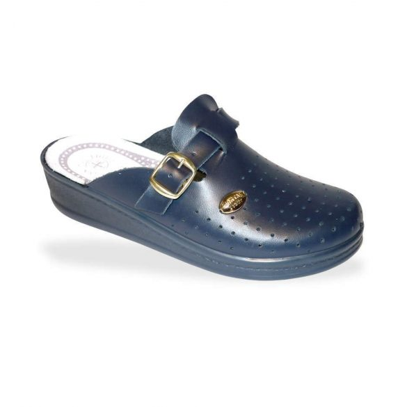 Santal Leight komfort papucs - zárt papucs 372 Blu