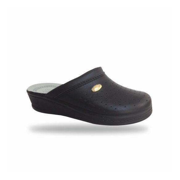 Santal Leight komfort papucs - kényelmi papucs 350 Fekete