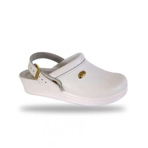 DrMonteBosco női komfort papucs - klumpa 347 Bianco