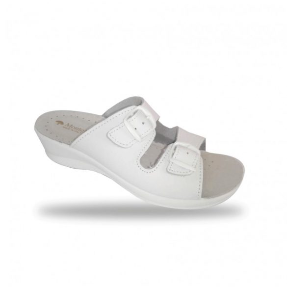 DrMonteBosco női papucs - komfort papucs 6015 Bianco