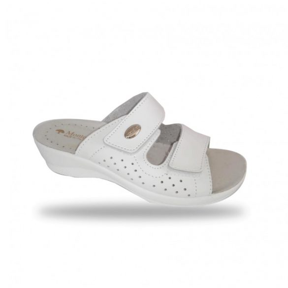 DrMonteBosco női papucs - gyógypapucs 6208 Bianco