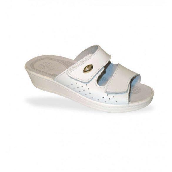 DrMonteBosco komfort papucs - gyógypapucs 375 Bianco
