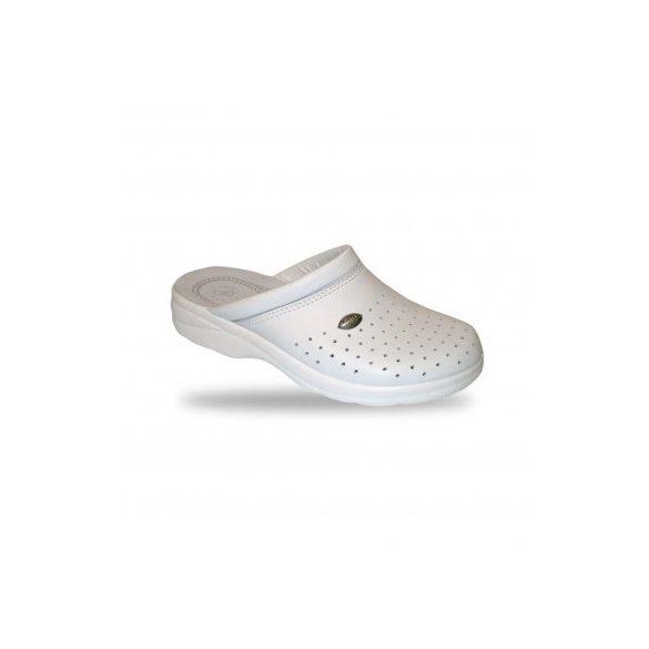 DrMonteBosco férfi komfort papucs - klumpa 750 Bianco