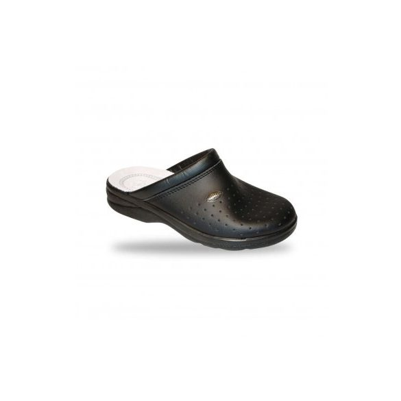 DrMonteBosco férfi komfort papucs - klumpa 750 Nero