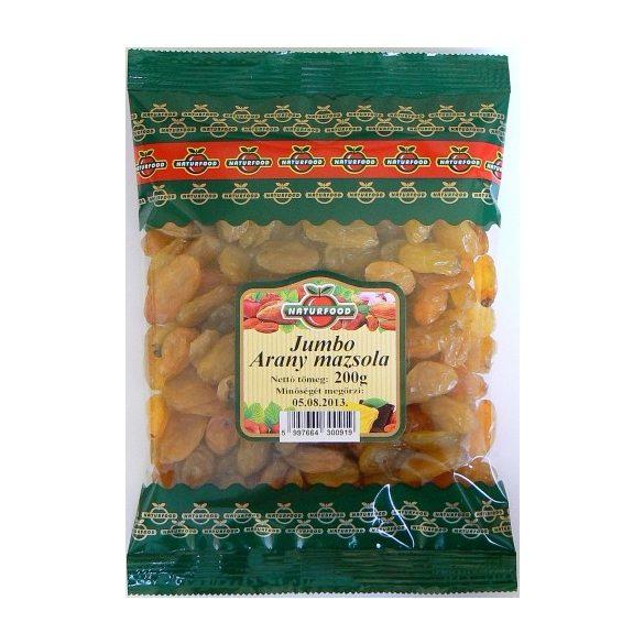 Naturfood Jumbo Arany mazsola 200g