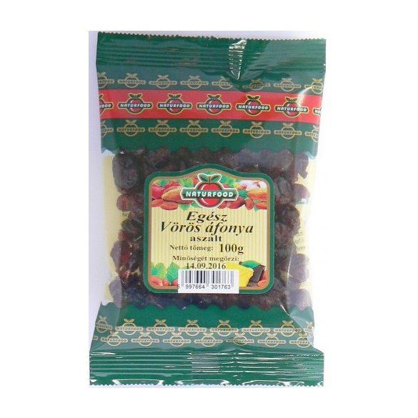 Naturfood Aszalt egész vörös áfonya 100g