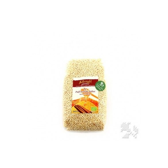 Naturgold Bio Puffasztott Köles Mézes - Fahéjas 200g
