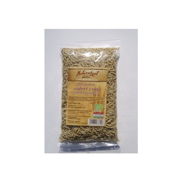 Naturgold Bio Alakor Ősbúza Tészta Csiga 250g