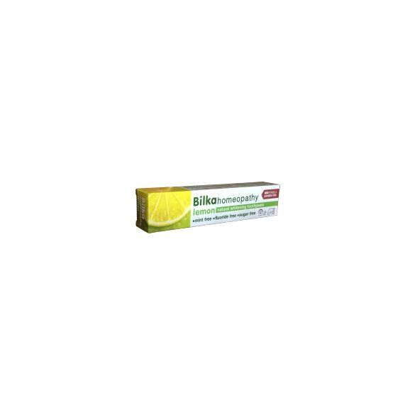 Bilka Homeopátiás Fehérítő Fogkrém Citrom 75 ml