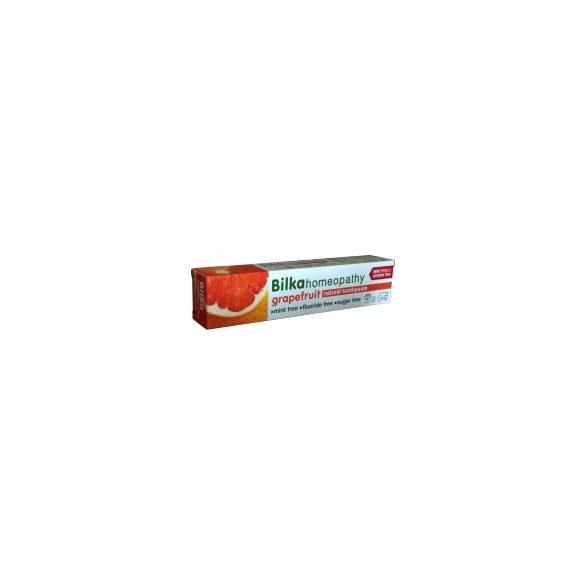 Bilka Homeopátiás Fluoridmentes Fogkrém Grapefruit 75 ml