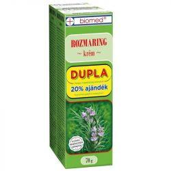 Biomed Rozmaring krém Dupla 70 + 70 g