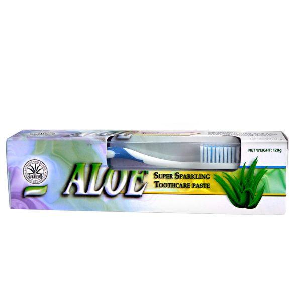 Dr.Chen Aloe Vera fogkrém 120 g + ajándék fogkefe